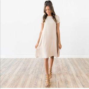 Mocha Dress by Shop Stevie